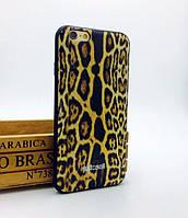"""Силиконовый чехол """"Just Cavalli"""" леопард для iPhone 6/6S"""