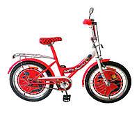 Велосипед 2-х колесный 20 дюймов 172029 со звонком,зеркалом,руч.тормоз,без доп.колес