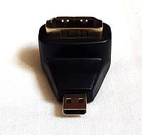 Переходник micro HDMI M/ HDMI F угловой, фото 1