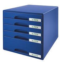 Шкафчик Leitz Plus 5 ящиков синий 52110035