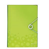 Папка с отделениями ПП WOW, зеленый металлик45890064