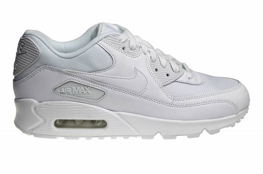 "Кроссовки Мужские Nike Air Max 90 Essential ""All White"""
