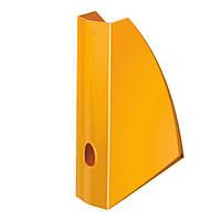 Вертикальный лоток Leitz WOW. Оранжевый металлик52771044