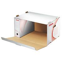 Архивный контейнер, открываемый спереди, белый 128910
