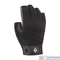 Перчатки Black Diamond Crag Half-Finger Чёрный XL
