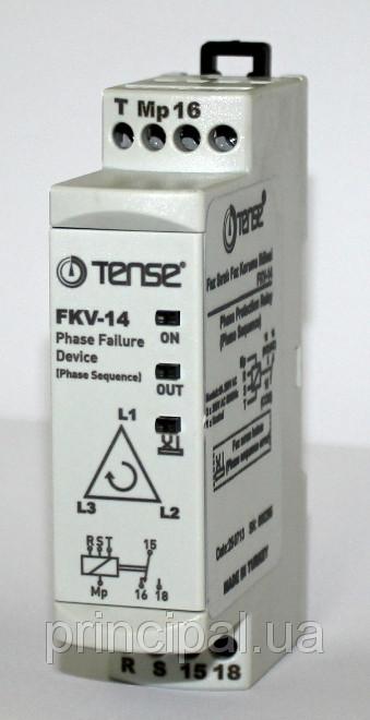 Реле контроля фаз устройство защиты 3-х фазного мотора цена купить TENSE