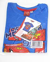 Футболка детская Тачки на мальчика/Cars /100% коттон/размер:92-98см(2-3 года)