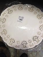 Ажурная салфетка под торт 36 см