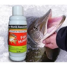 100 % ОРИГИНАЛ Активатор клева голодная рыба Fish Hungry жидкий, Фиш хангри 120 мл