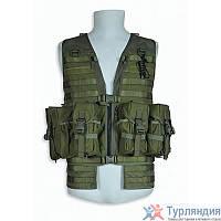 Разгрузочный жилет Tasmanian Tiger Ammunition Vest р.L cub/flecktarn/khaki Оливковый