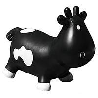 Прыгун «KidzzFarm» (KFMC130302) коровка Бетси, цвет черный с белым (с насосом)