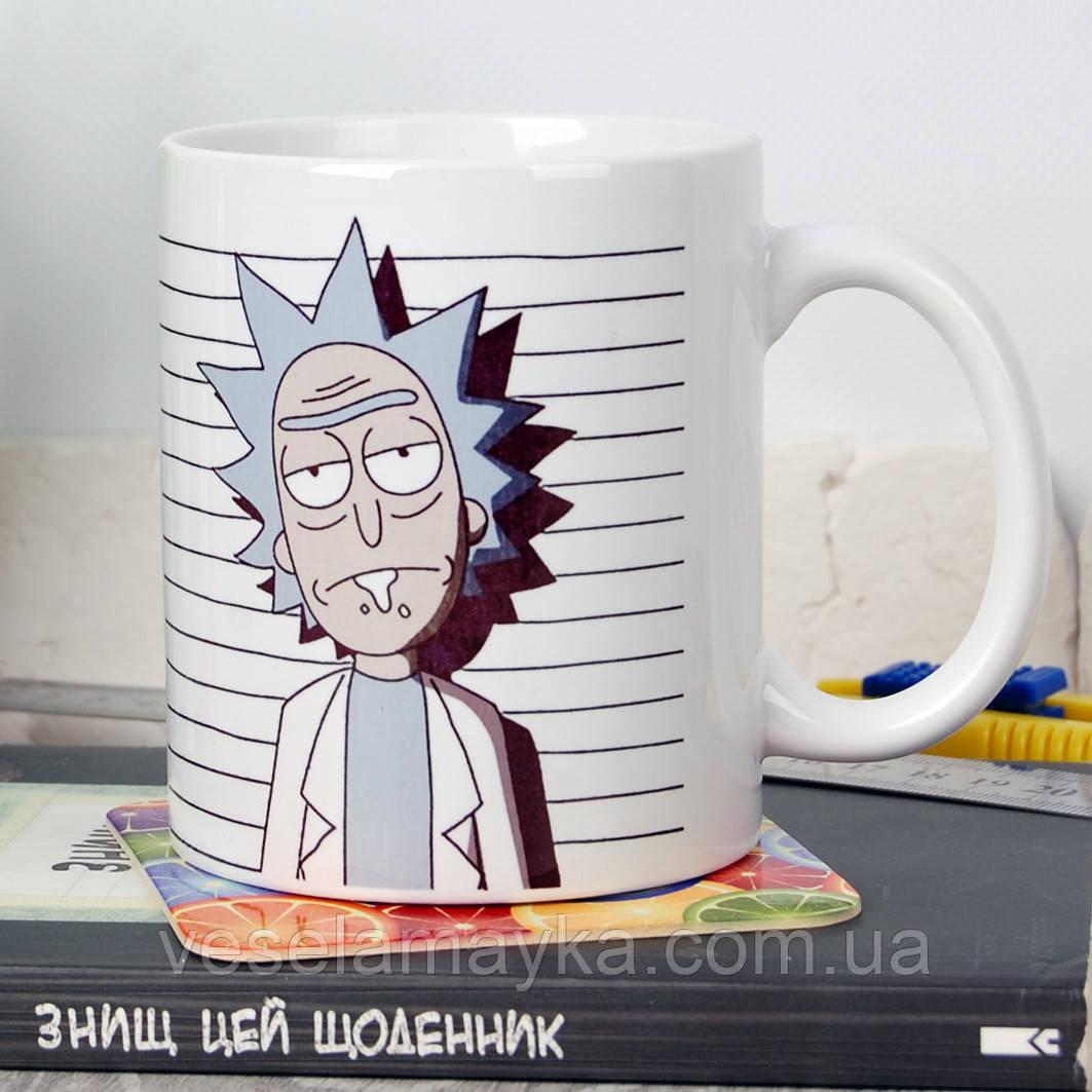Чашка Рик и Морти 3