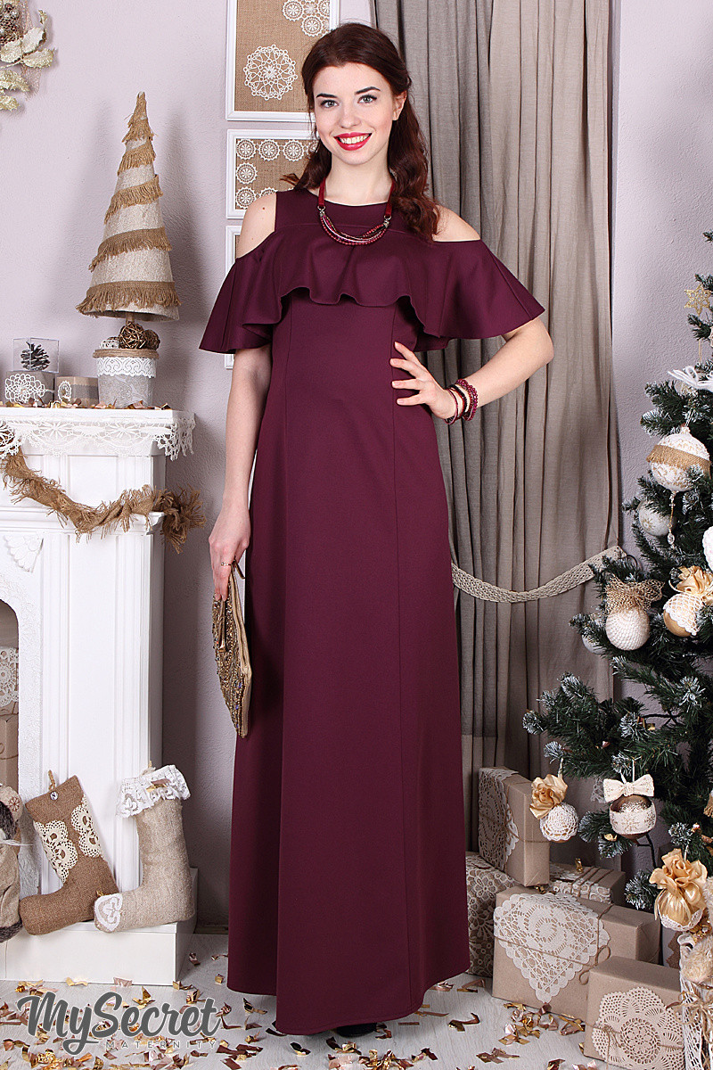 d5e6e80ee2d610d Платье для беременных и кормящих мам нарядное - Интернет - магазин