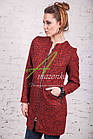 Стильное женское пальто букле от производителя модель весна 2018 - (рр-53), фото 2