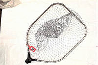 Голова на подсак EOS складной, размер сетки 65*50 см, ячейка 30 мм, просто и легко складывается