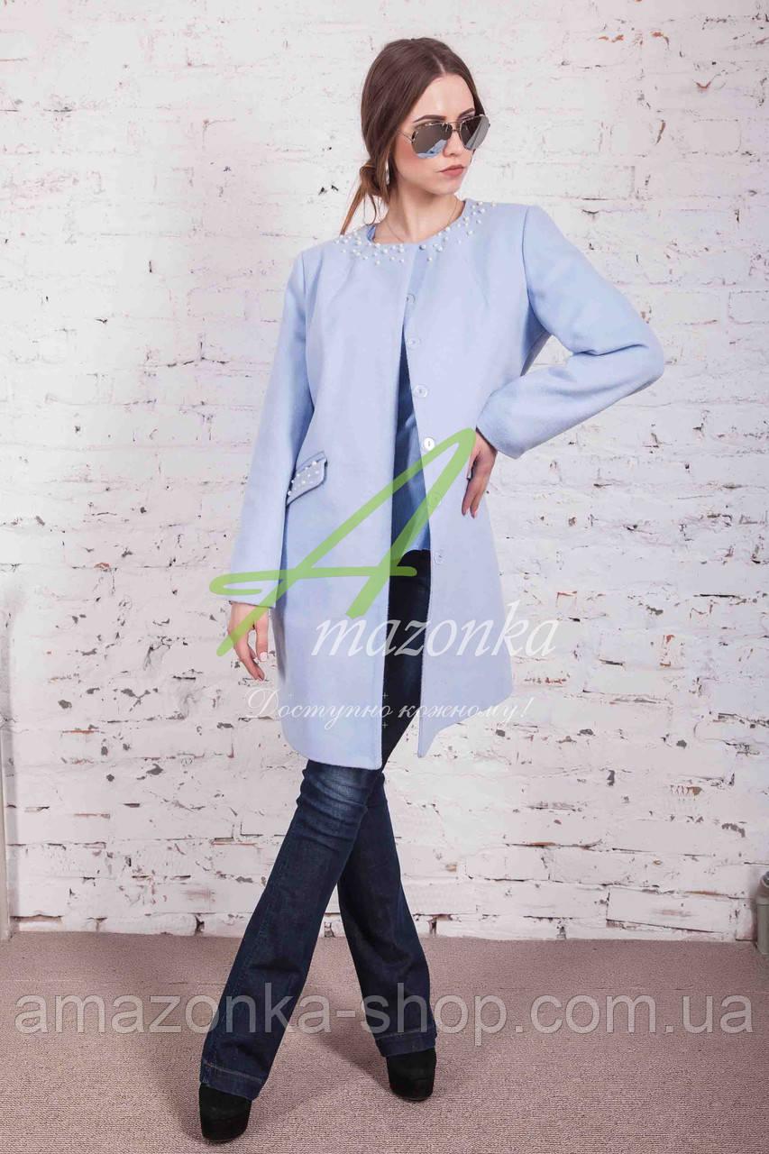 Брендовый женский пиджак от производителя модель весна 2018 - (рр-54b)