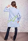 Брендовый женский пиджак от производителя модель весна 2018 - (рр-54b), фото 3