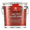 "Valtti color satin. ""Валти колор сатин"" антисептик для дерева с сатиновым блеском 2,7 л"