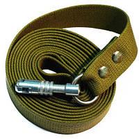 Поводок бризентовый для собак 2м длина, 35мм ширина