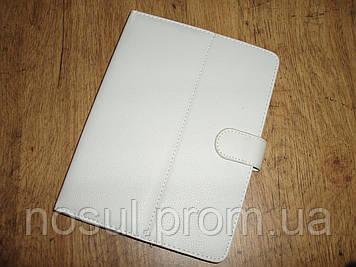 Чехол обложка для планшета 8 дюймов, электронной книги. Цвет белый.