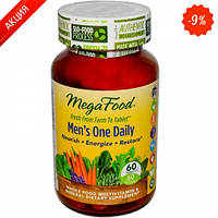 Мультивитамины одна таблетка в день для мужчин MegaFood 60 шт