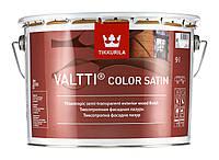 "Valtti color satin. ""Валти колор сатин"" антисептик для дерева с сатиновым блеском 9 л"