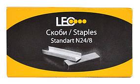 Скобы для степлера №24/8 1000шт L3283140135