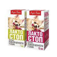 Лакто-Стоп Api San для собак флакон