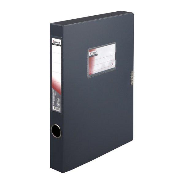 Папка-коробка 36 мм, сіра 25061736-03-А