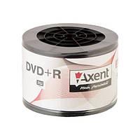 Диск Axent DVD+R 4,7GB/120min 16X, 100 шт, bulk 161258107-А