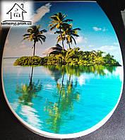 Крышка для унитаза Elif Plastik (Остров)