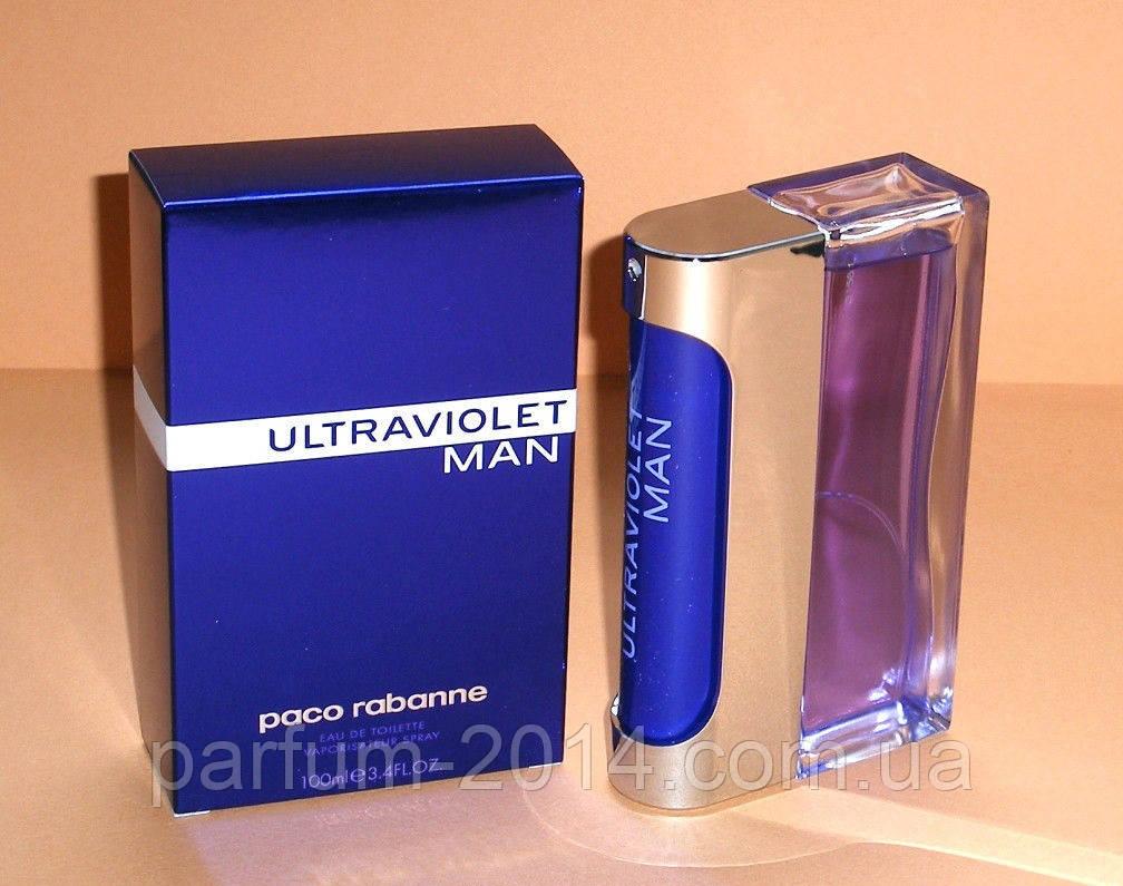 Мужская туалетная вода Paco Rabanne Ultraviolet Man (реплика)