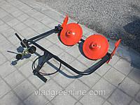 Косилка роторная ременная КР-01 ШИП кованые ножи (для МБ с водяным охлаждением)