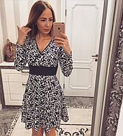 """Женское модное платье """"Узоры"""" , фото 1"""