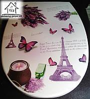 Крышка для унитаза Elif Plastik (Париж)