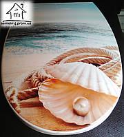 Крышка для унитаза Elif Plastik (Жемчужина)