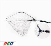 Подсак EOS LS70, треугольный, сетка нейлон, ячейка 25 мм, полная длина 200 см, сложенная длина 80 см, 2 колена
