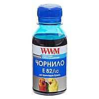 Чернила Epson Stylus Photo T50/P50/PX660 100г Light Cyan Water-solub WWM (E82/LC-2)