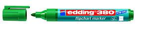 Маркер Flipchart e-380 1,5-3 мм круглий зелений 1709380/04