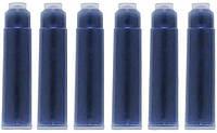 Картридж Koh-i-noor чернильный для перьевых ручек, 6 шт. синий