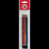 Олівець графітний Scala, HB (полибег 4 шт) 6061672/4/P