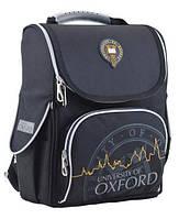 Ранец школьный каркасный ортопедический ТМ 1 Вересня H-11 Oxford black