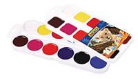 Фарби акварельні медові  Africa , 8 кольорів, без пензлика, пластикE60124