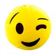 Мягкая антистрессовая игрушка soft toys 16 smiles подмигивает dt-st-01-16