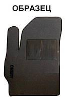 Ворсовый водительский коврик для Chevrolet Lacetti 2002-2013 (IDEA)
