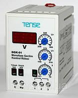 Реле напряжения электронное 1-но фазные микропроцессорное с таймером цена купить