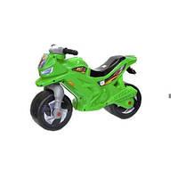 Детский мотоцикл Орион 501в.3_З 2-х колесный з сигналом зелений