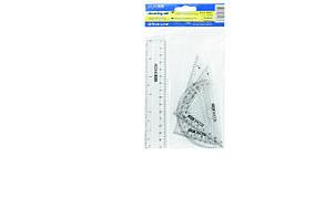 Набор для черчения Economix (линейка 15см, треугольники 5см и  7см, транспортир) E81307