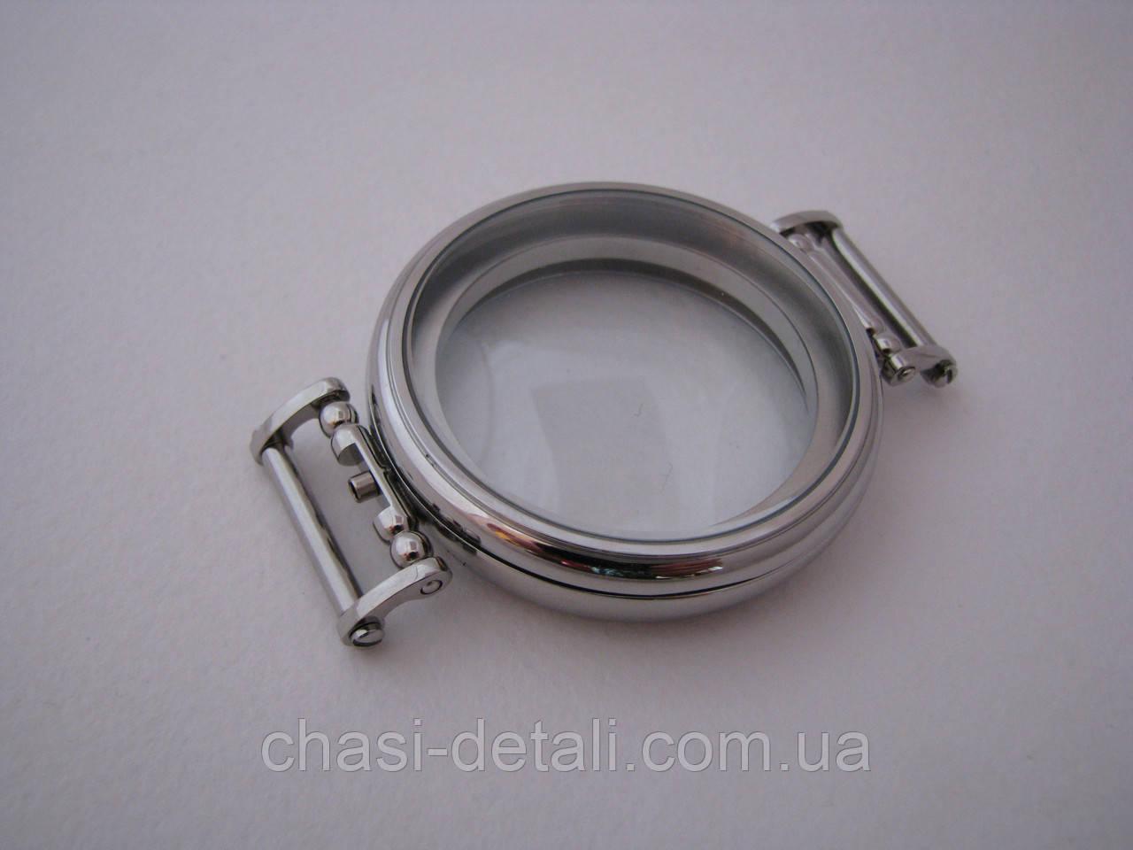 Корпус для годинників, сталевий. Діаметр 49,80 мм. Годинник
