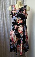 Платье элегантное миди Luxe D Perkins р.48 7473